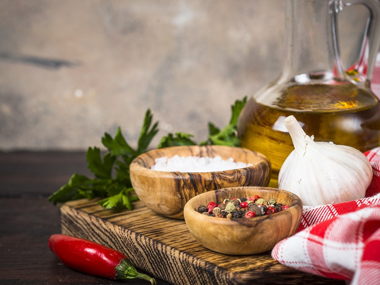 Cooking oils and ingredients