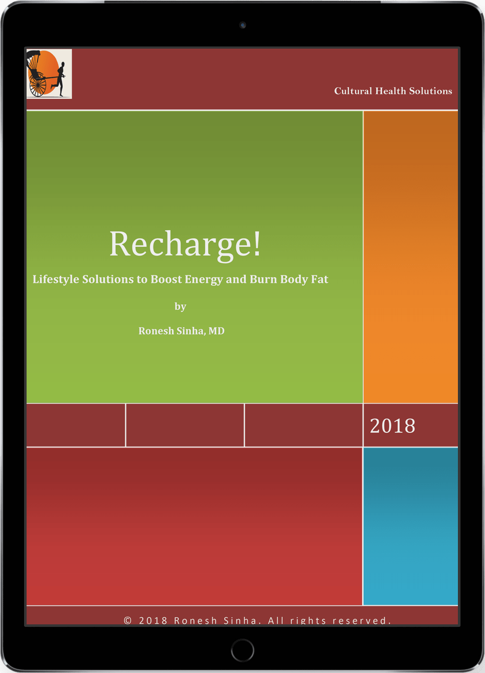 Recharge eBook on an iPad