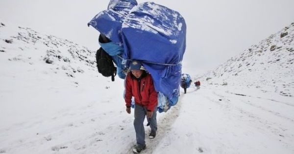 Himalayan sherpa
