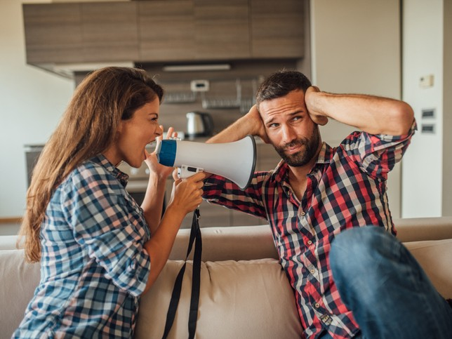 spouse not listening